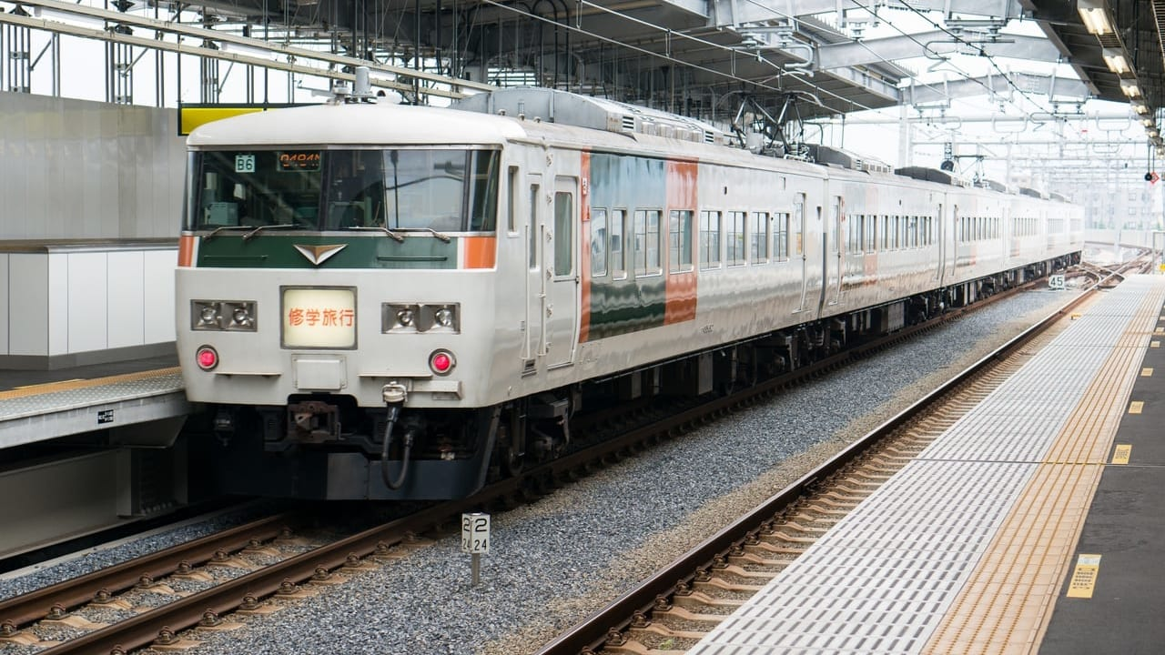 修学旅行の電車のイメージ