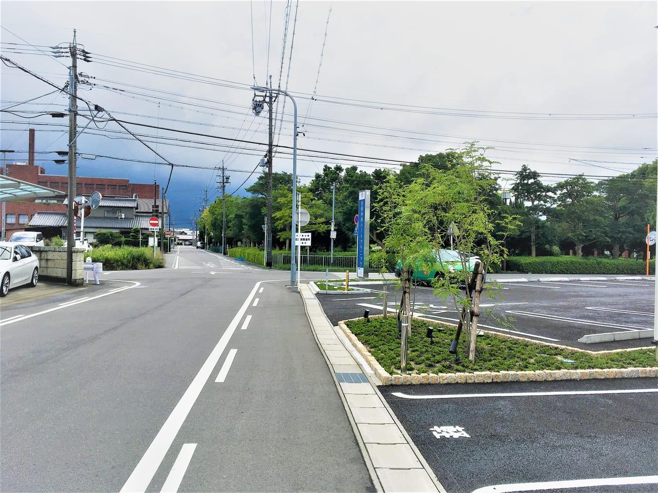 山田内科ハートクリニックまでの道