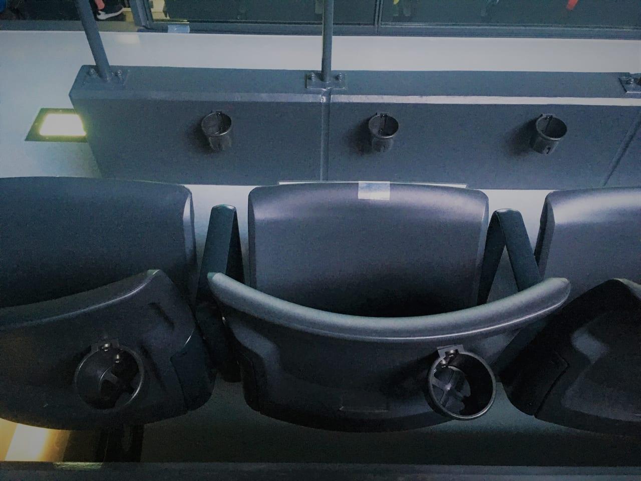 豊田合成記念体育館エントリオの椅子