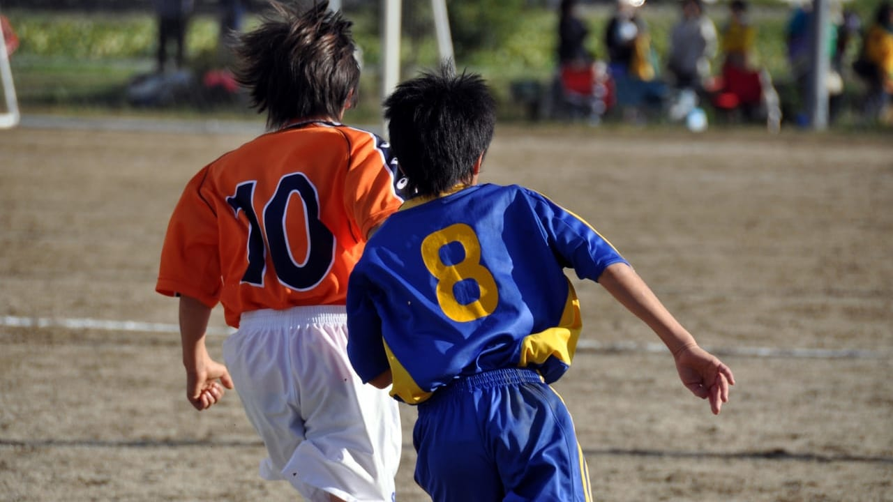 令和2年度一宮市中学校総合体育大会のサッカーのイメージ