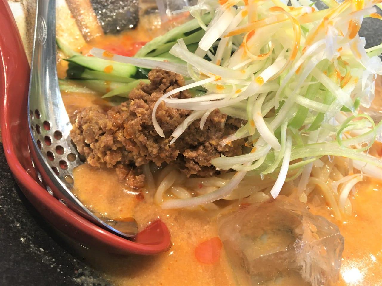麺場田所商店「冷やしタンタン麺」