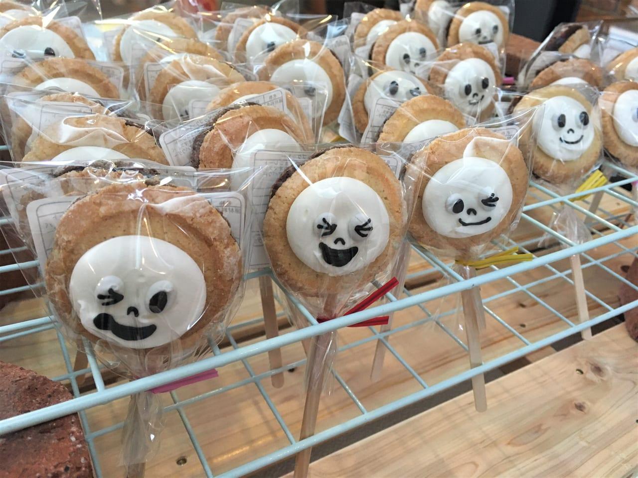 さっぽろからやってきた!「ぼくおばけのマール」絵本原画展で販売されていたクッキー