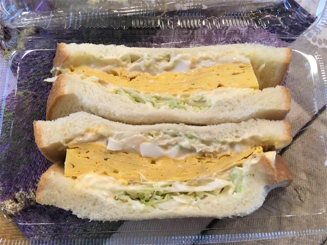 五平餅はっちゃんのサンドウィッチ