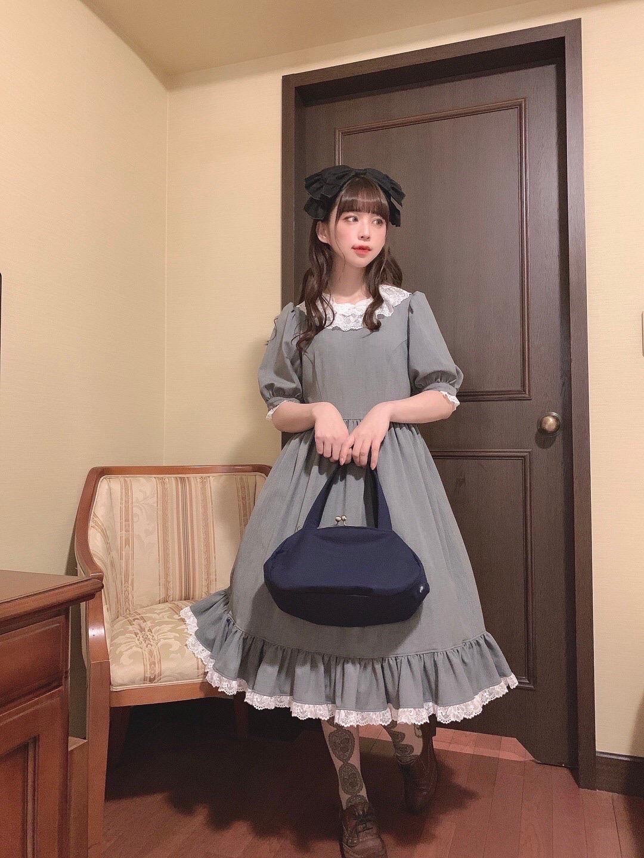 尾州ロリィタのモデルさん